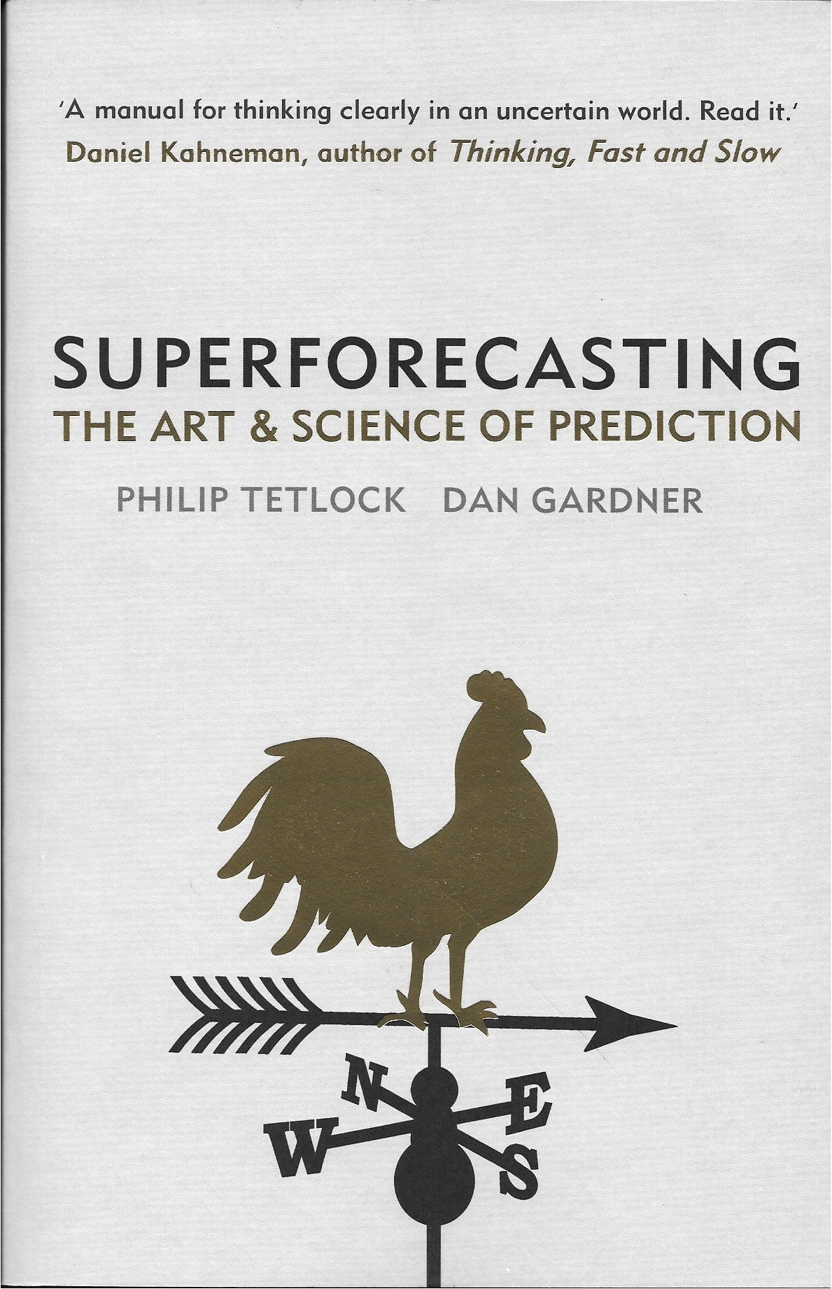 Superforecasting cover
